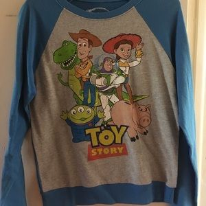 Disney Toy Story raglan style pullover sweater